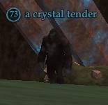 A crystal tender