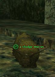 A sludge mucus