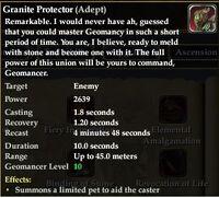 Granite Protector (Adept)