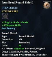 Jaundiced Round Shield