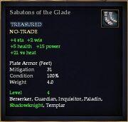 Sabatons of the Glade