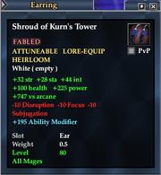 Shroud of Kurn's Tower