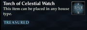 Torch of Celestial Watch