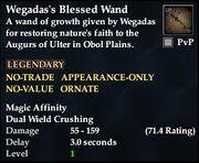 Wegadas's Blessed Wand