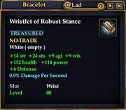 Wristlet of Robust Stance