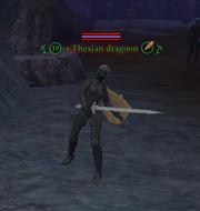 A Thexian dragoon