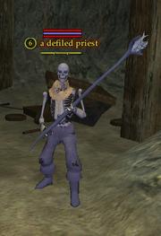 A defiled priest