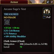 Arcane Sage's Vest