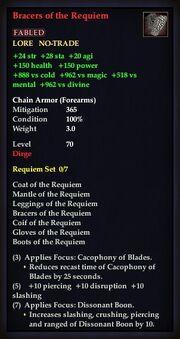 Bracers of the Requiem