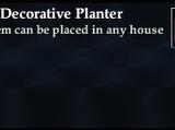 Large Decorative Planter