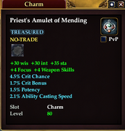 Priest's Amulet of Mending