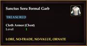 Sanctus Seru Formal Garb (crafted)