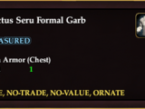 Sanctus Seru Formal Garb (Crafted)