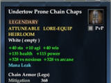 Undertow Prone Chain Chaps