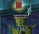 A vigilant sentry