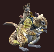 Brown Treeglider (Equipped)