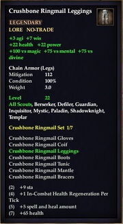 Crushbone Ringmail Leggings