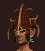 Sacrosanct Cap of the Forest Scion (Equipped)