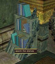 The Legend of Dalnir-bookcase