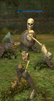A fallen brigand