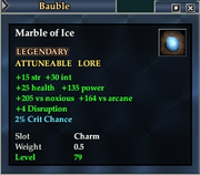 Marble of Ice