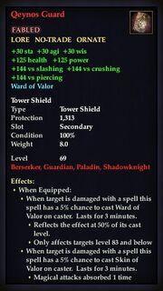 Qeynos Guard (Shield)