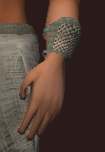Radiant Seer's Chain Cuffs (Equipped)
