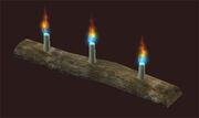 Row-bristlebane-candles