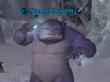 Shaman Snowfell (Named)