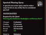 Spectral Phasing Spray