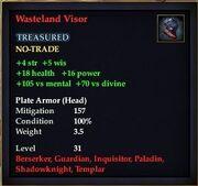 Wasteland Visor
