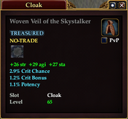 Woven Veil of the Skystalker
