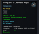 Wristguards of Channeled Magics