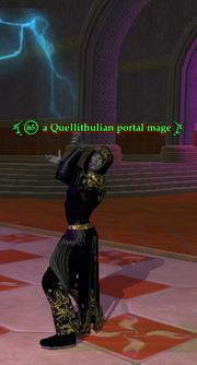 A Quellithulian portal mage
