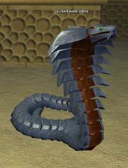 A clockwork cobra