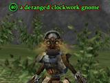 A deranged clockwork gnome