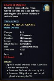 Charm of Defense