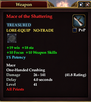 Mace of the Shattering