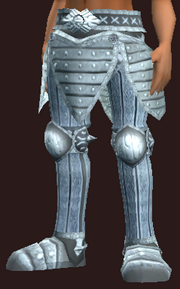 Myrmidon's Greaves of the Citadel (Equipped)