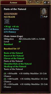 Pants of the Natural