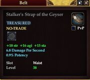 Stalker's Strap of the Geyser