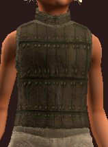 Woven Tanned Leather Tunic (Equipped)