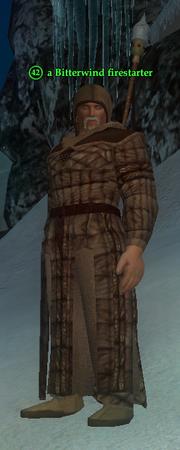 A Bitterwind firestarter (barbarian)