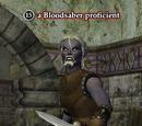 A Bloodsaber proficient