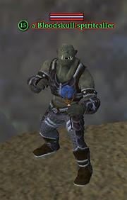 A Bloodskull spiritcaller