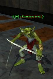 A Runnyeye scout (Runnyeye- The Gathering)