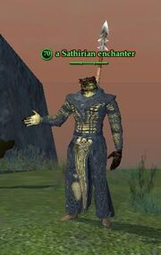 A Sathirian enchanter