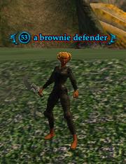 A brownie defender (heroic)