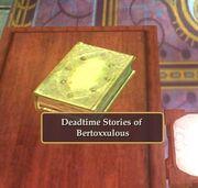 Deadtime Stories on desk