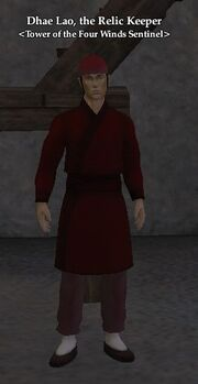 Dhae Lao, the Relic Keeper